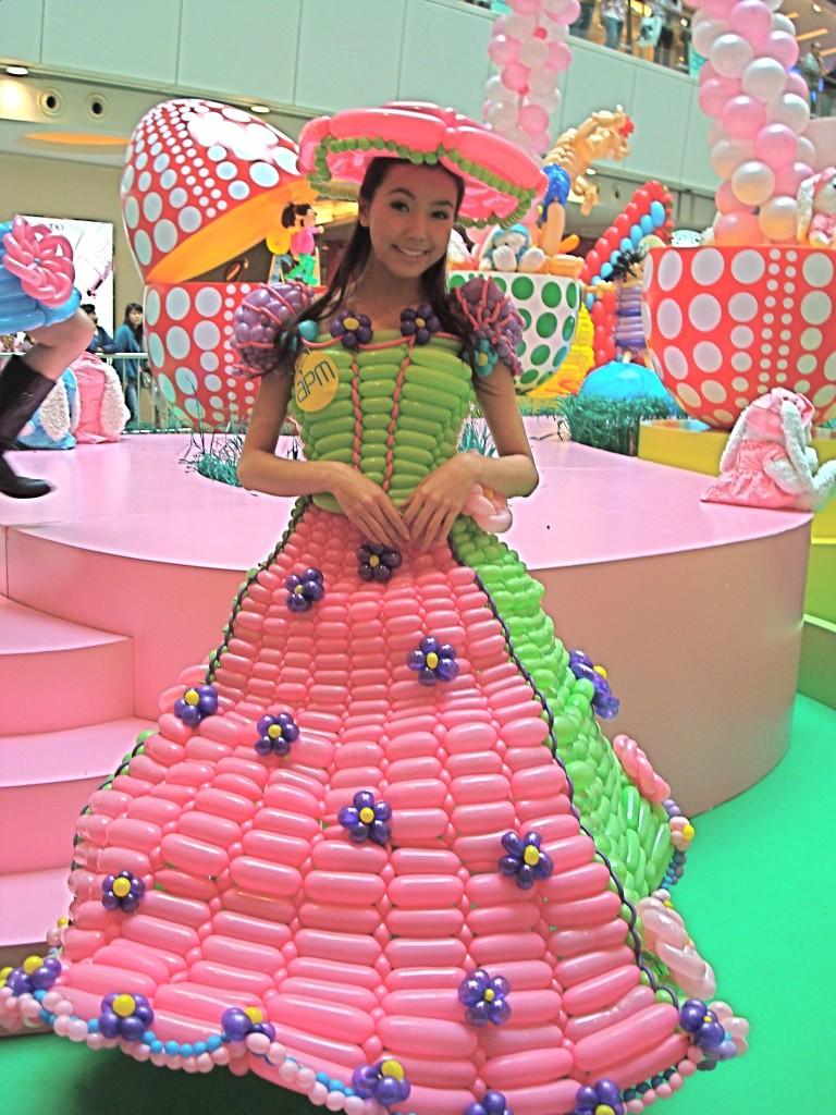Spring Time Balloon Dress