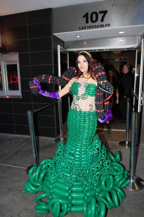 Balloon Dress Las Vegas