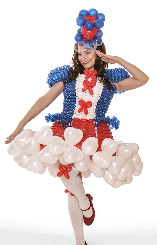 Las Vegas Balloon Dresses