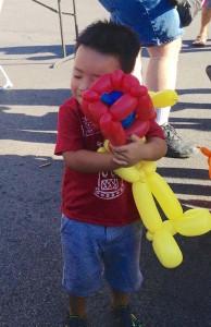 balloons make people smile
