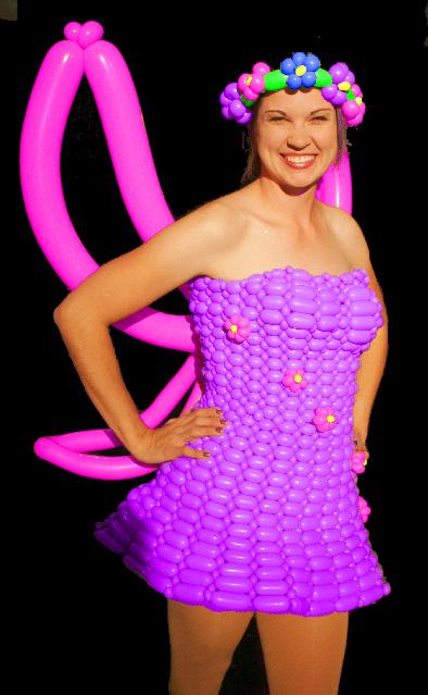 Fairy Princess Balloon Dress