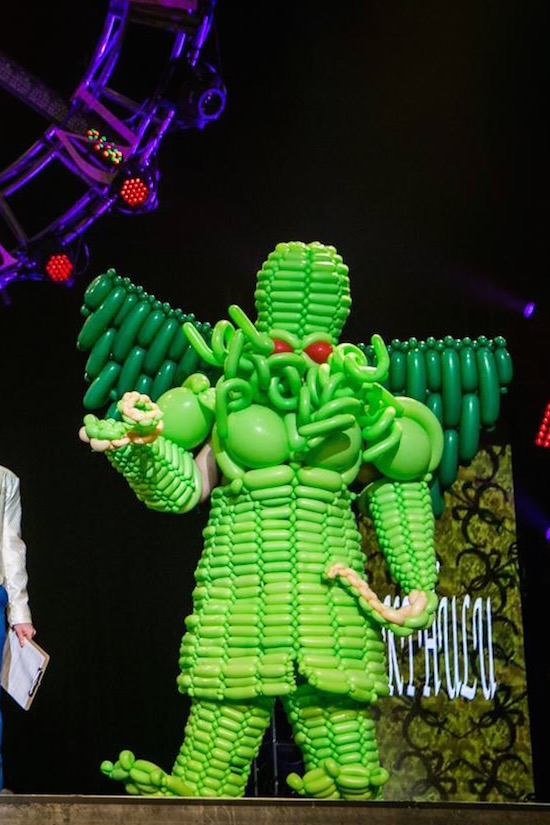 Cthulhu costume worn by Actor Jon Deline. Photograph by Danielle DeBruno Photography for SON Studios.