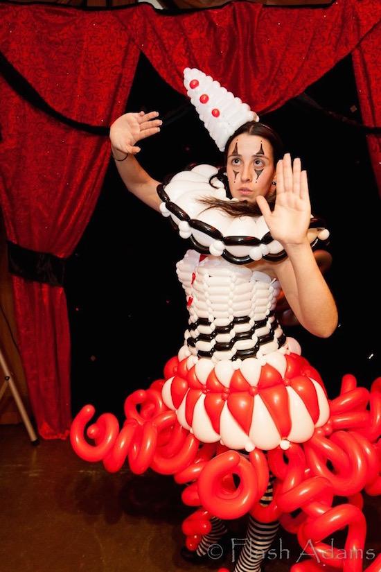 Balloon Dresses Las Vegas