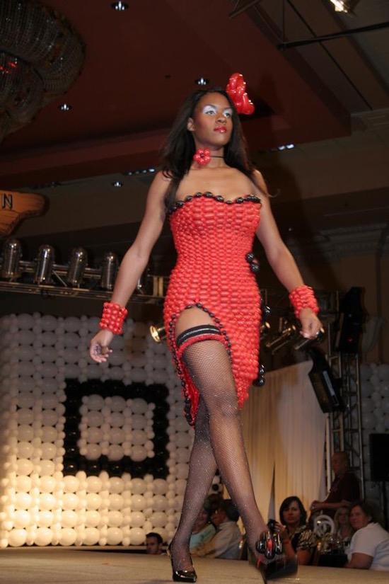 Las Vegas Balloon Dresses