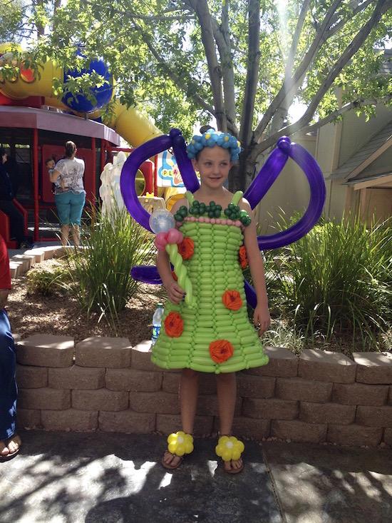 Balloon costumes Las Vegas