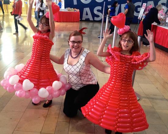 Balloon Dress for kids
