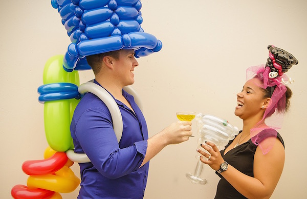 Small Balloon Top Hat