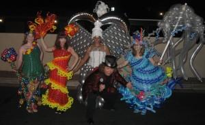 Vegas Wonder ground Balloon Dresses