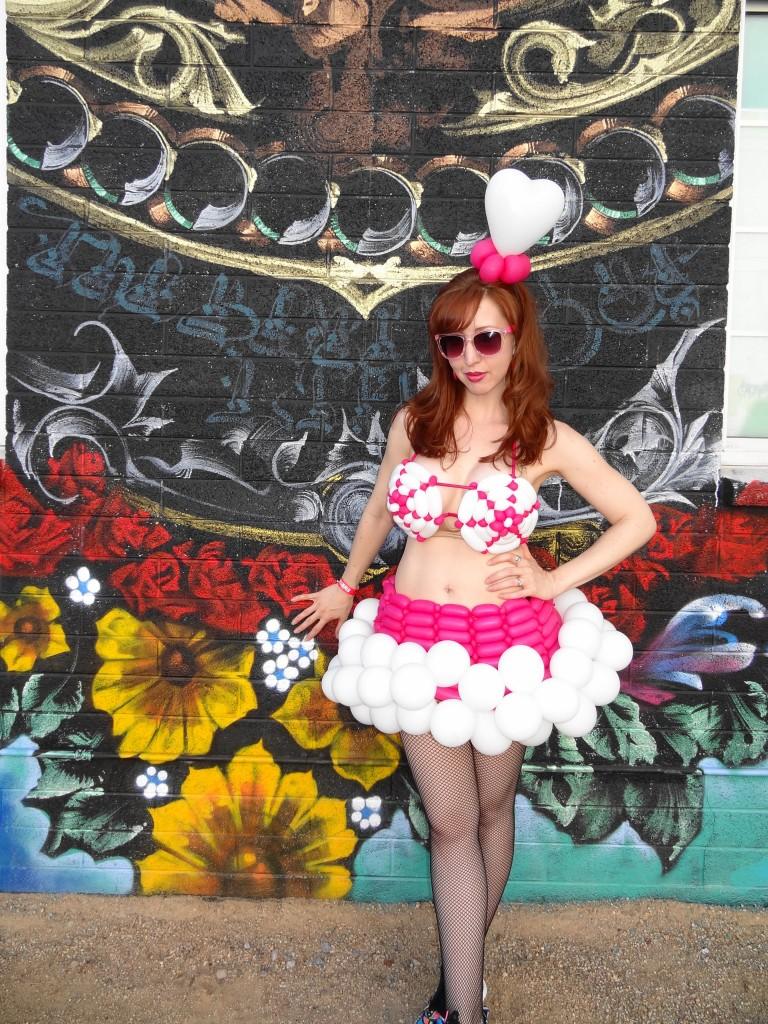 Balloon Dress Las Vegas